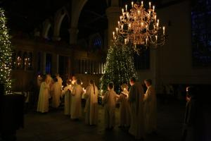 Lessons & Carols door de Nicolaascantorij